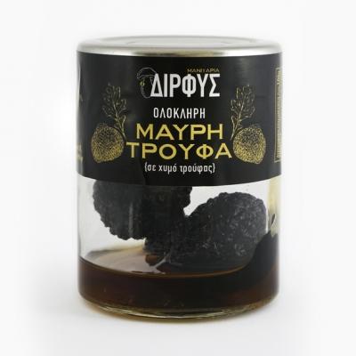 Ολόκληρη μαύρη τρούφα σε χυμό