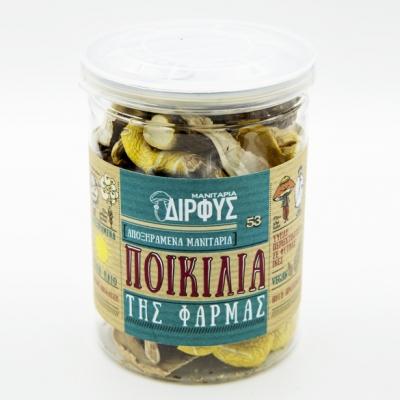 Ποικιλία Φάρμας αποξηραμένα μανιτάρια 25g