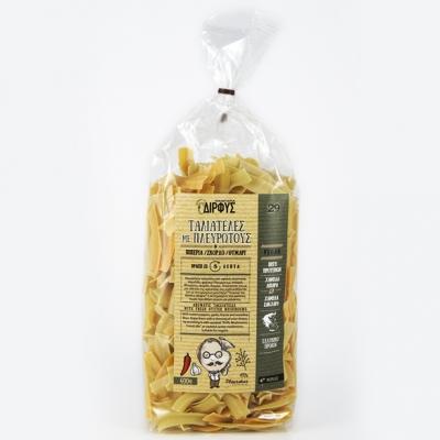 Ταλιατέλες πλευρώτους- πιπεριά-σκόρδο 400g